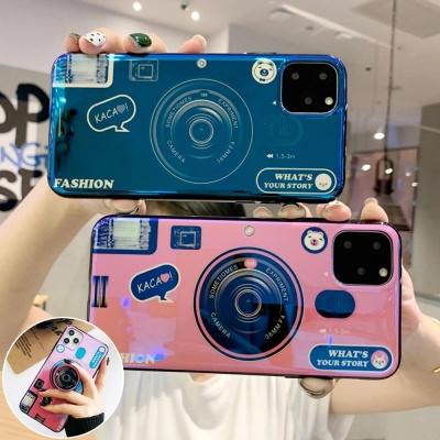 갤럭시S21/울트라/S21+/카메라 그립톡 실리콘 케이스