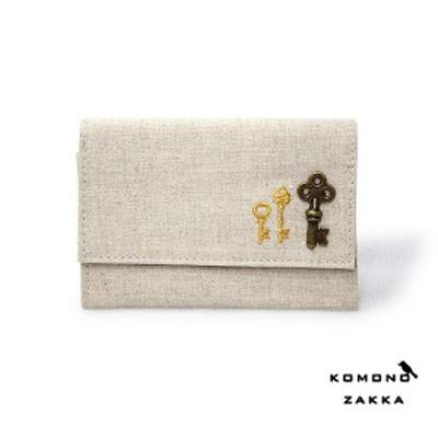 Komono Zakka Card Case - 사진기와 열쇠