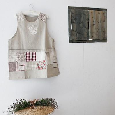 플로리안 린넨 앞치마 - 3color