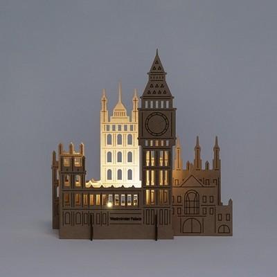 [퍼니피쉬] 크래프트라이츠 - 웨스트민스터 궁전 - LED/Candle