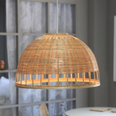 대나무 라탄 조명갓 식탁등 인테리어조명