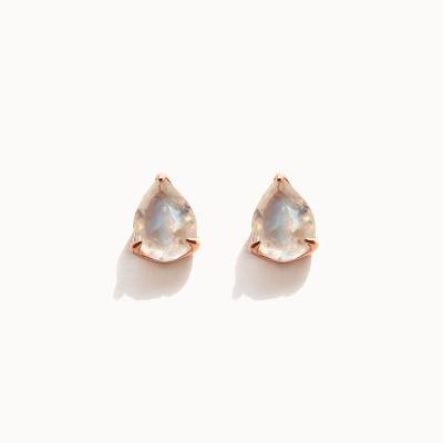 제이로렌 M03435 6월탄생석 문스톤 실버 귀걸이