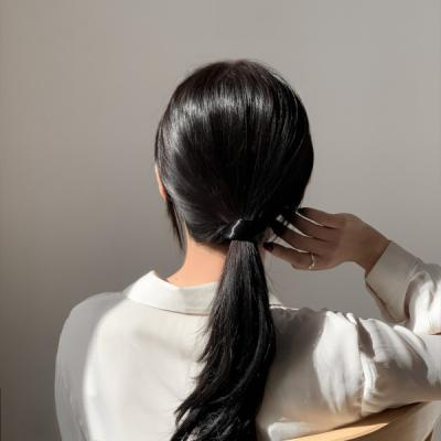 인조머리 페이크 헤어끈 4color