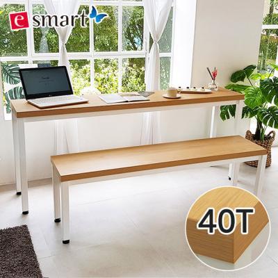 [e스마트] 스틸헤비 테이블 1800*400 (일자다리)