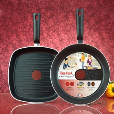 주방명품 Tefal 테팔 이지그립 플러스 프라이팬 28cm +그릴팬26 (세트상품)