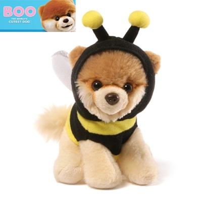 월드넘버원 꿀벌후드티 부 강아지인형-4058943