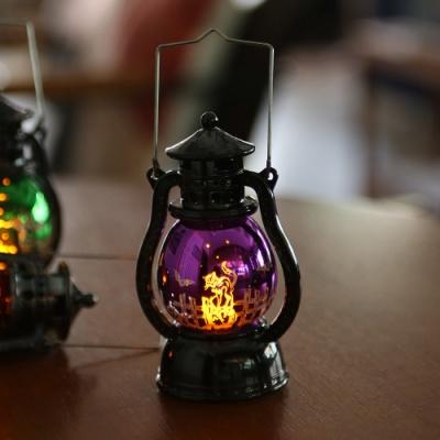 LED 할로윈 큐티랜턴 (소) 퍼플