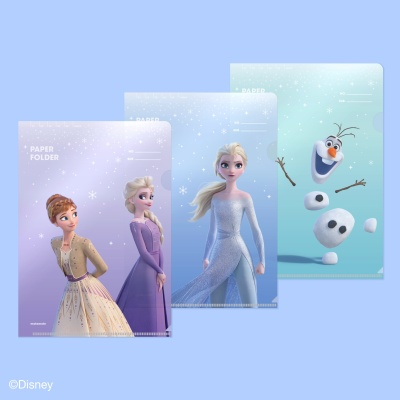 [모트모트] 디즈니 페이퍼 폴더 - 프로즌2 (3EA)