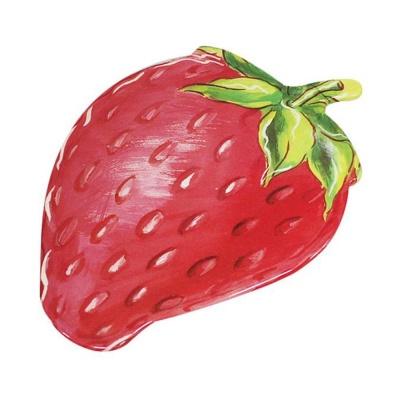 멜라민 딸기 냄비 받침대 냄비깔개 매트 트레이
