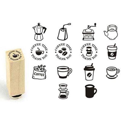 [커피앤티]커피앤티★쿠폰고무스탬프(14종선택)