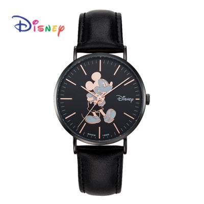 Disney 월트디즈니 미키 가죽시계 OW-8140BBK