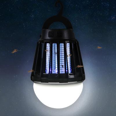 어반 LED 캠핑 랜턴 모기퇴치기 블랙