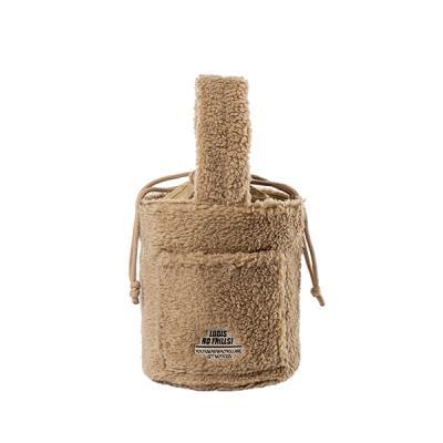 [로디스]비비 양털버킷백 양털가방 베이지 여성가방