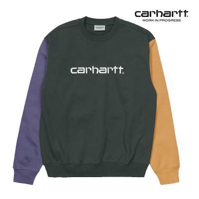칼하트WIP Carhartt Tricol Sweatshirt (Dark Teal)