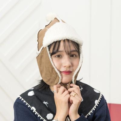 [지오바니]트래퍼햇 방울 귀달이/귀도리/털모자