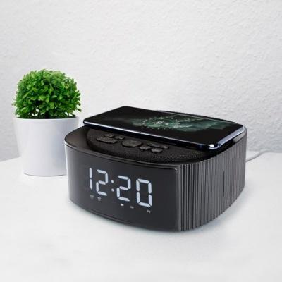 UM2 탁상 시계 블루투스 스피커 고속 무선 충전기