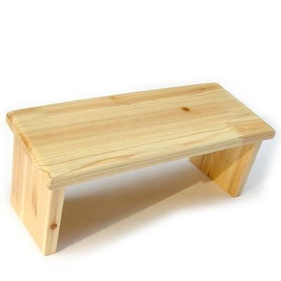기도의자 무인쇄 펜아저씨 원목의자 기도용 의자
