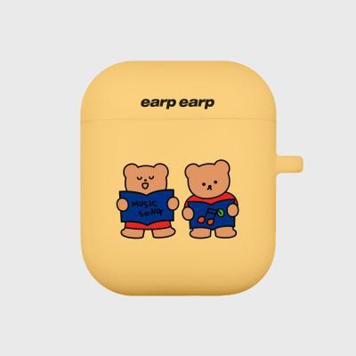 Music song bear-yellow(Air pods)