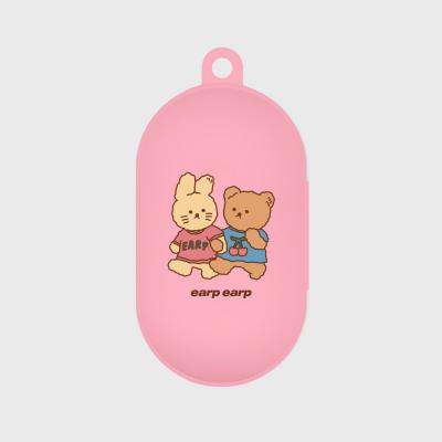 nini friends-pink(buds jelly case)