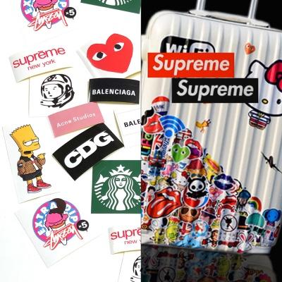[특가무료배송] 포인트 로고 디자인 데코 스티커세트