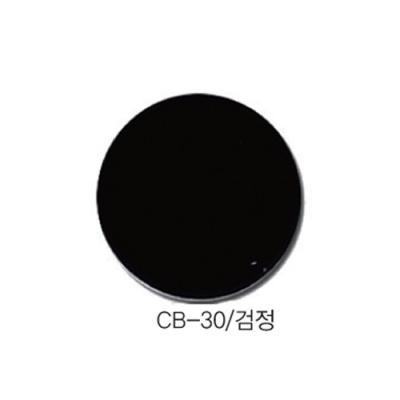 [현진아트] CB단면칼라우드락 5T 6X9 CB-30 검정색 [장/1]  114459