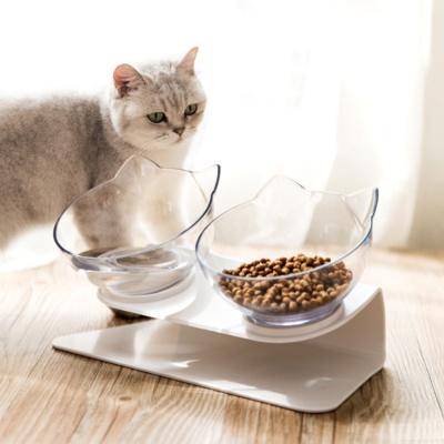 모아모아요 심플 고양이 맞춤 각도조절 식기