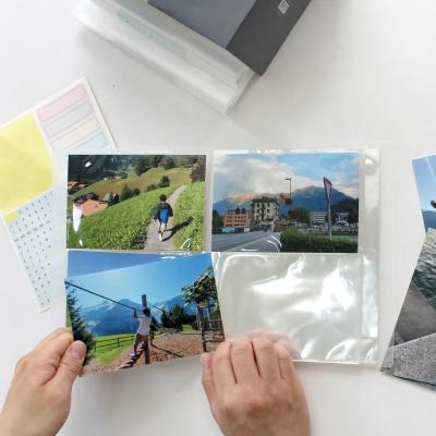 작은사진관 이지더블포켓 4x6앨범 4권세트 2단포켓식