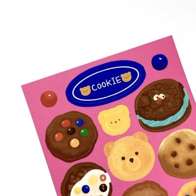 쿠키 씰스티커