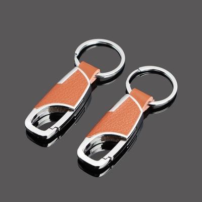 크래프트 키홀더 열쇠고리(브라운)