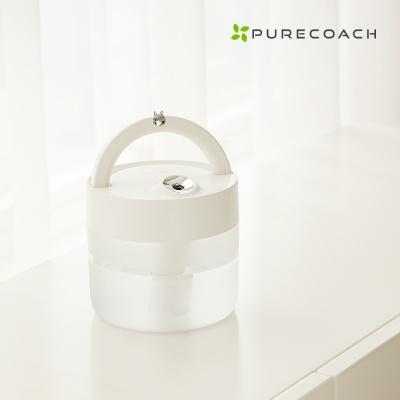 퓨어코치 LED 무드등 무선 가습기 1L