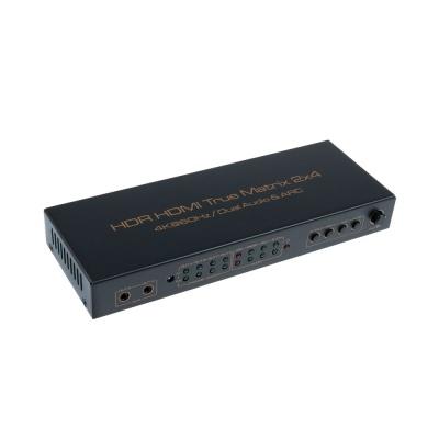 2X4 HDMI 선택기 컨버터 / 4K 60Hz 고해상도 LCAS903
