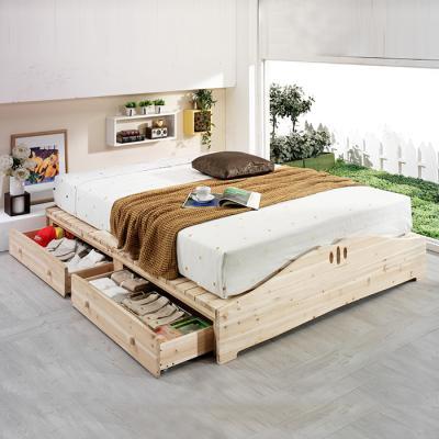 이홈데코 올리팡 원목 침대프레임(Q)