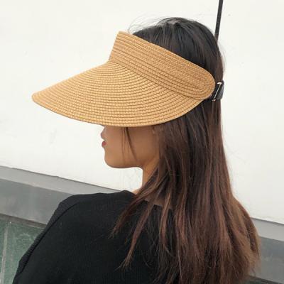 벨린 여성 여름 라탄 자외선차단 썬캡