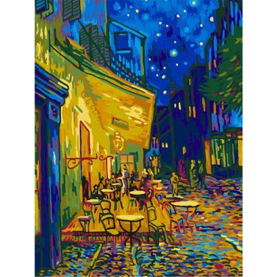 아이엠미니 DIY 별빛 명화그리기 40x50_카페 테라스