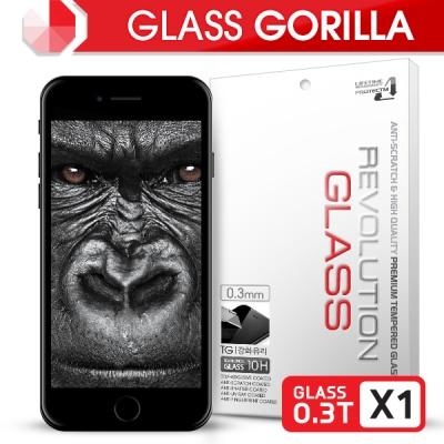 [프로텍트엠]레볼루션글라스 고릴라 0.3T 강화유리/방탄액정보호필름 아이폰7플러스/iPhone7 Plus