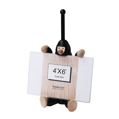 우더풀라이프 액자 GORILLA WOODEN PHOTO FRAME