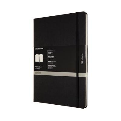 몰스킨 프로 노트/블랙 하드 A4