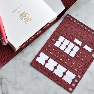 Allday Leather Sticker (가죽 인덱스 스티커)