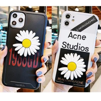 아이폰 x/xs max/xr 맥스 렌즈보호 국화꽃 그립톡세트