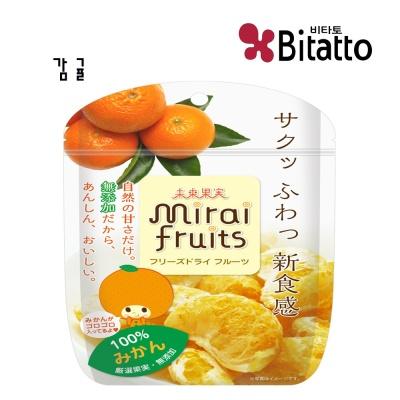[비타토 국내생산  미래과일] 동결건조과일칩 감귤칩