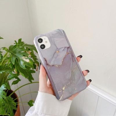 아이폰11 PRO MAX XR X SE2 8 퍼플 대리석 하드케이스