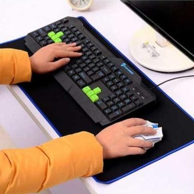 네오플랜 마우스키보드 테이블매트 대 블랙