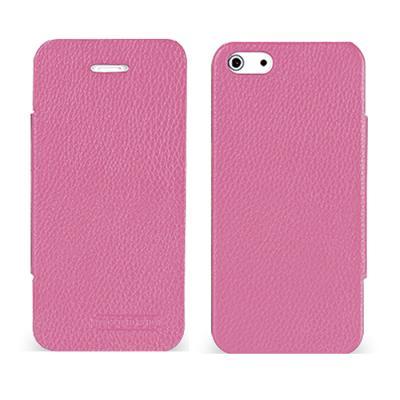 TETDED 아이폰 5용 LEATHER Skinny (핑크)