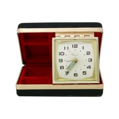 빈티지 스퀘어 알람 시계