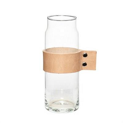 [Hubsch]Vase w leather ribbon 화병379004