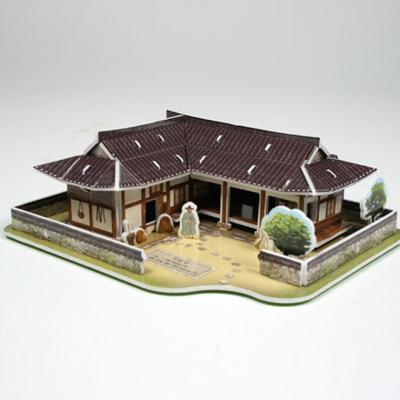 3D입체퍼즐 한국의 전통가옥 기와집 [CK003]