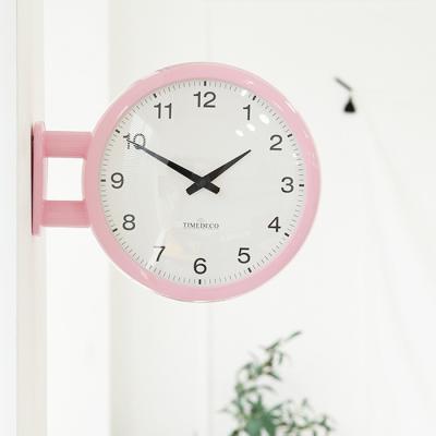 모던양면시계 베이비핑크 A5