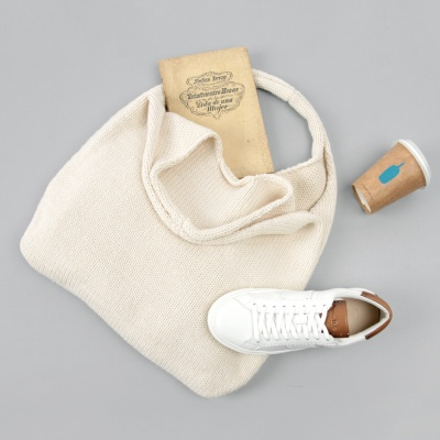 [베네]호보 니트가방