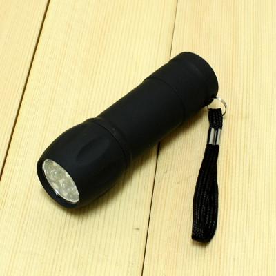 9구 심플 LED 손전등