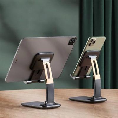 핸드폰 휴대용 곡선형 각도조절 접이식 멀티 거치대